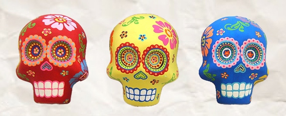 Examples Of Traditional Sugar Skull Art For Day The Dead